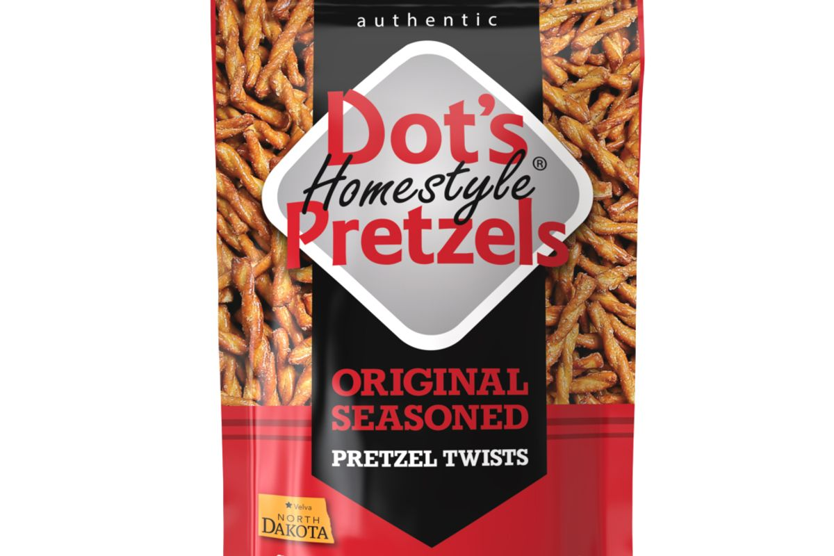 dots homestyle pretzels
