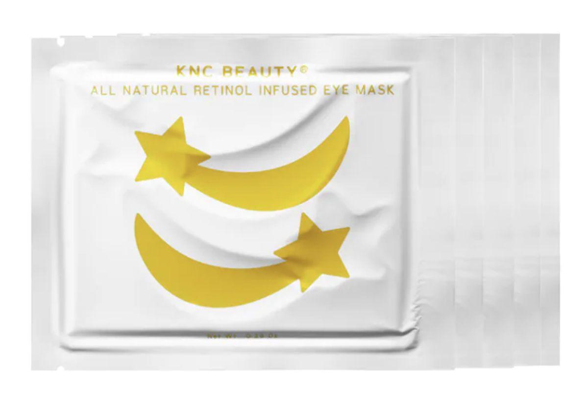 knc beauty all natural retinol infused eye mask