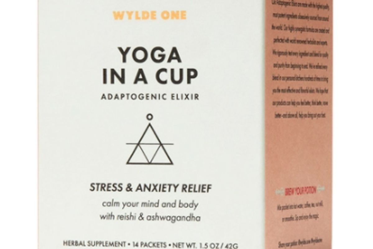 wylde one yoga in a cup