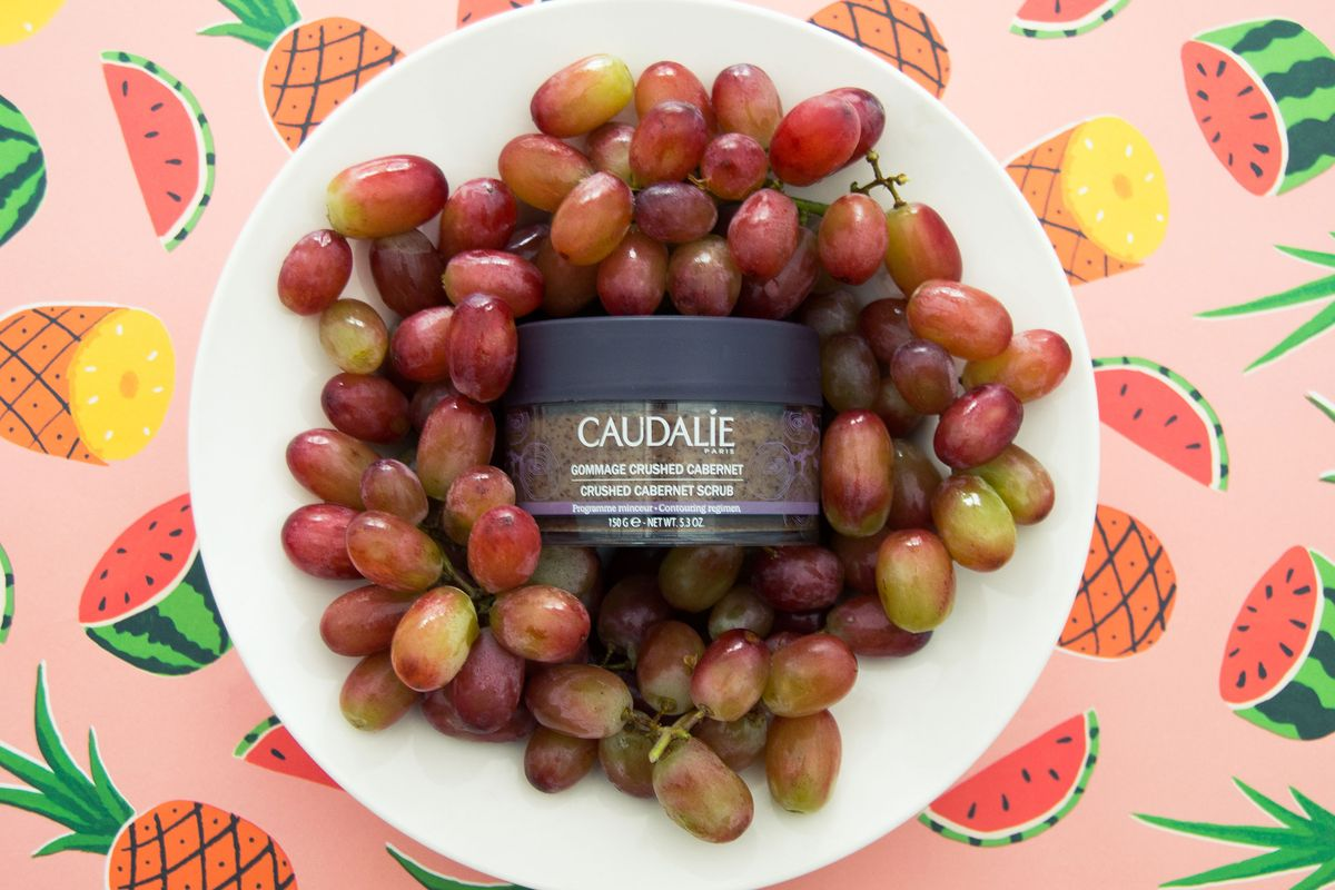 An Exfoliating Scrub Made From Your Favorite Cabernet