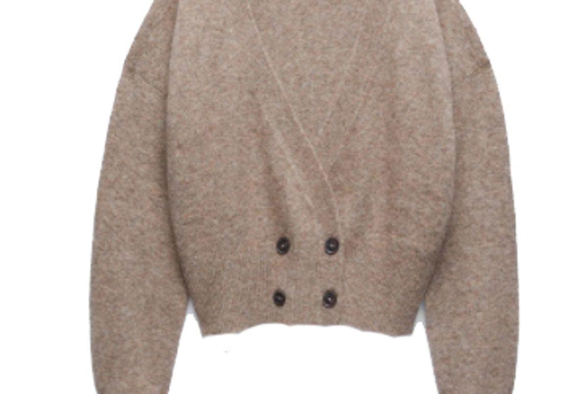 zara wool blend knit jacket