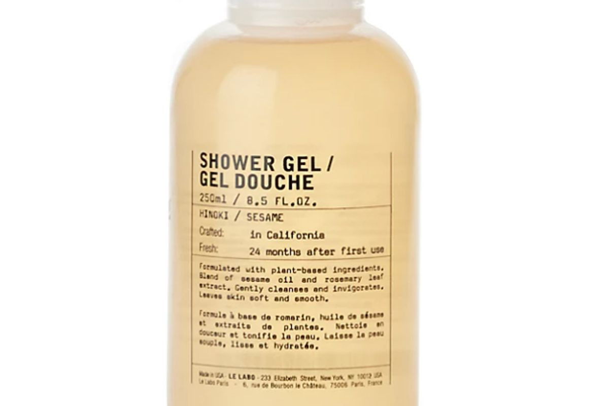 le labo hinoki shower gel