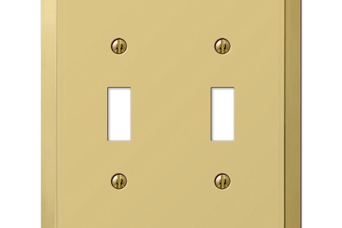 Century Polished Brass Double Toggle