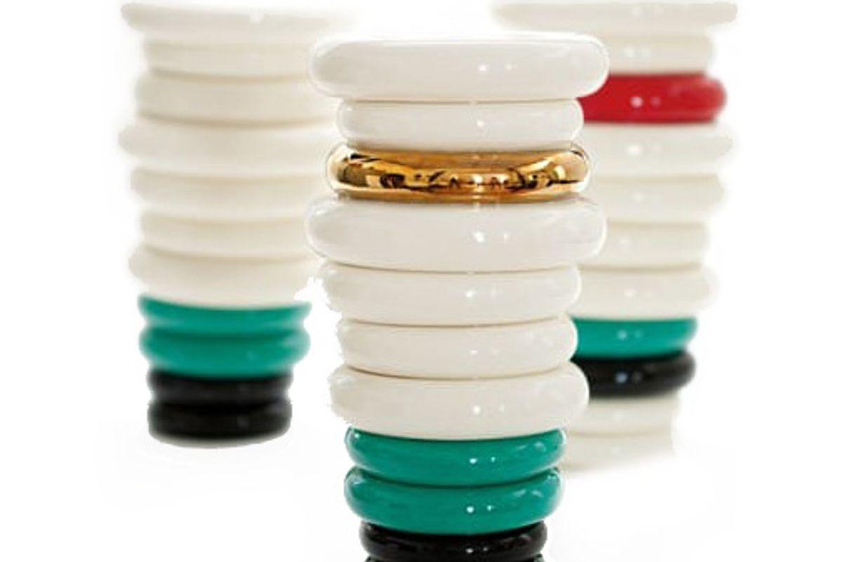 Vase of Rings (Color Varies)