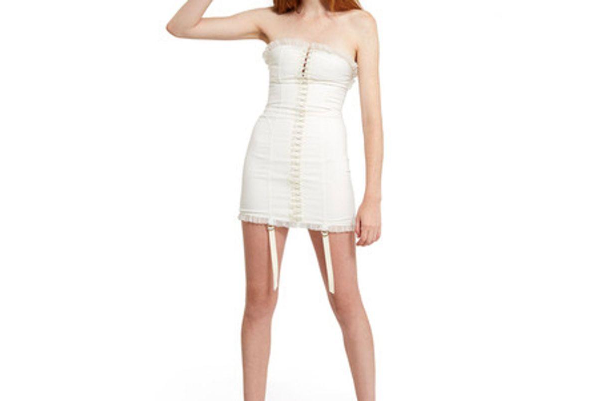 Strapless Hook Dress