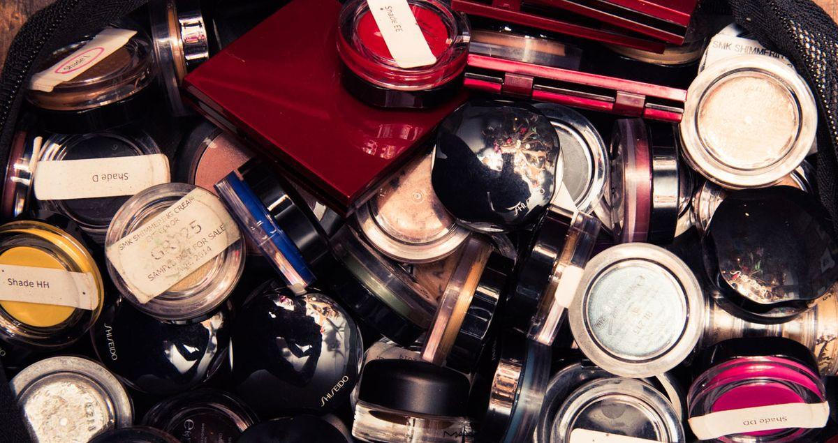 Inside Dick Page's Makeup Kit