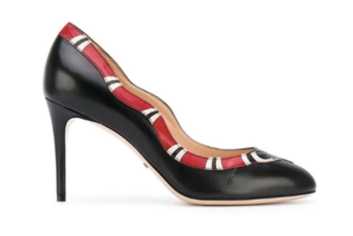 gucci kingsnake pumps