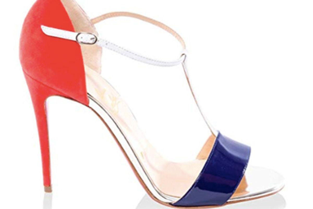 louboutin women's dress sandal