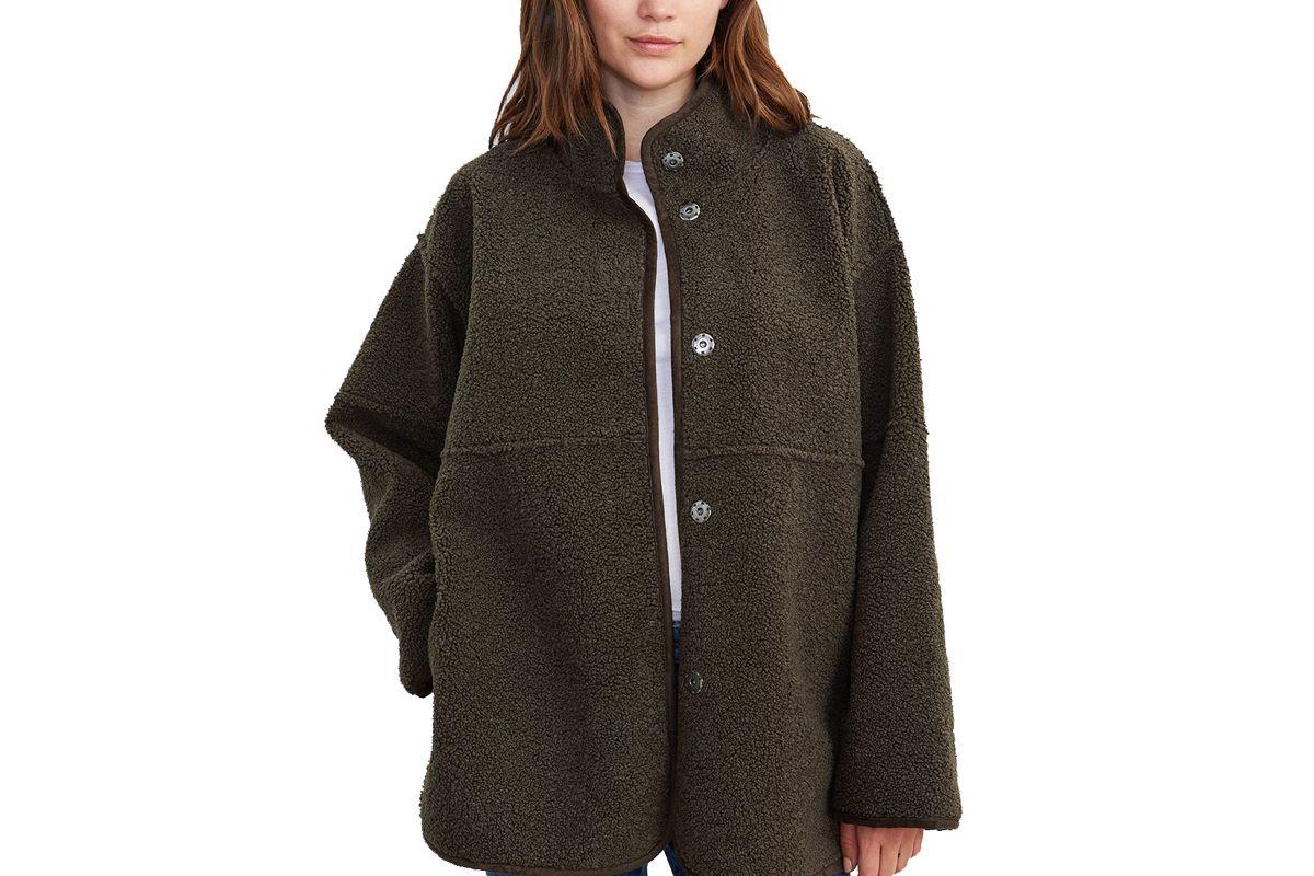 velvet albany reversible lux sherpa coat