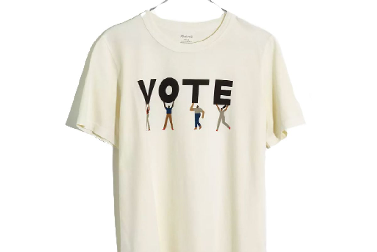 madewell vote graphic tomboy tee