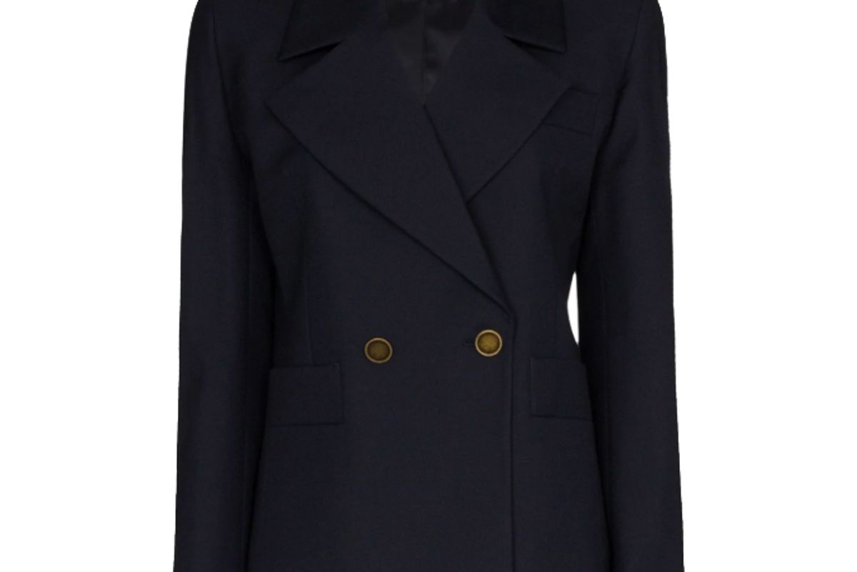 re/done 80s wool blend blazer