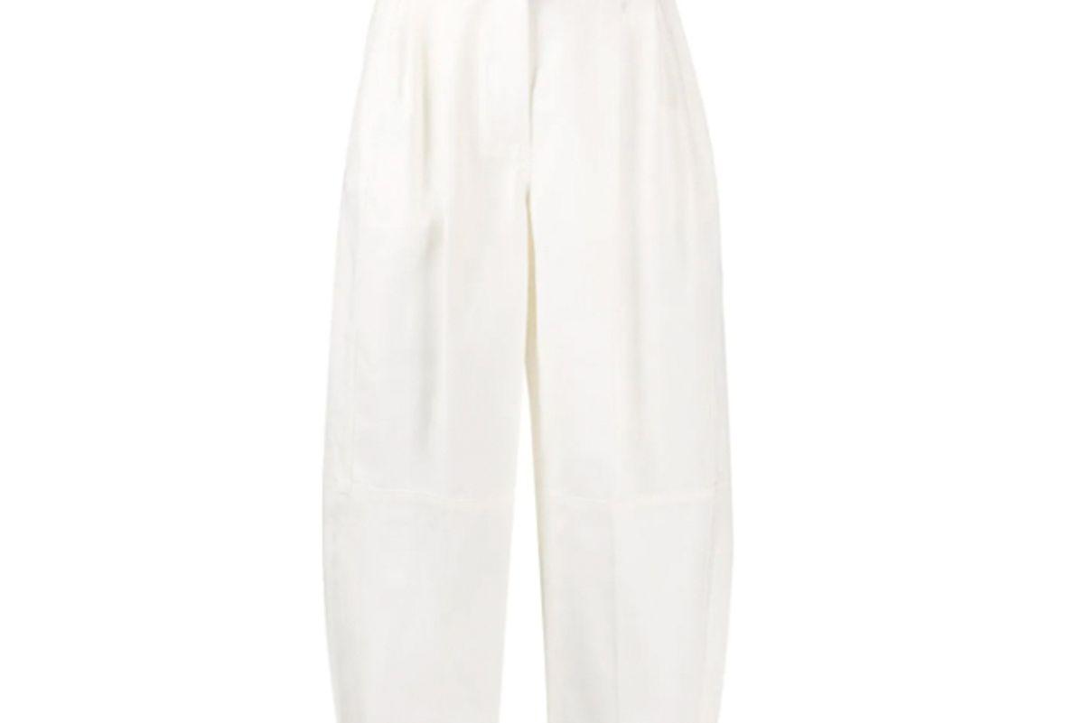 givenchy high waisted ballon trousers