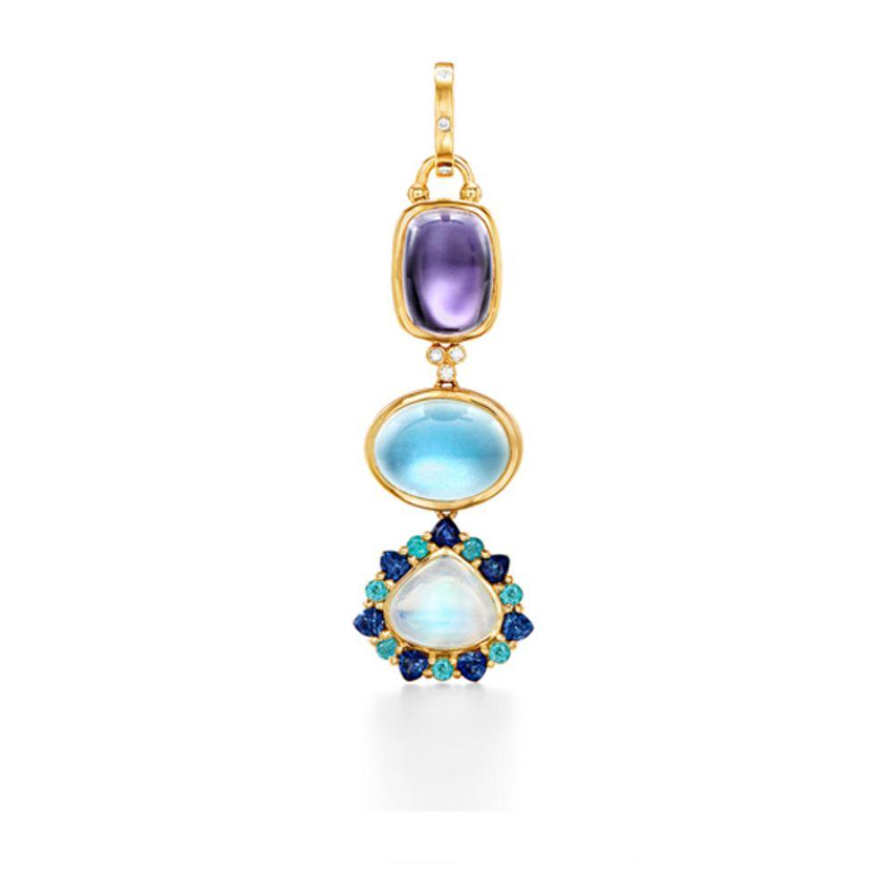 Mini Semi Precious Jewelry Box