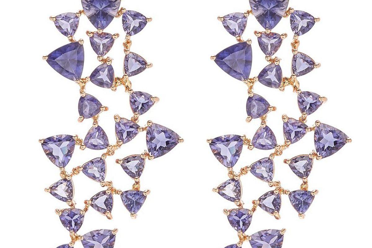 karma el khalil iolite puzzle earrings