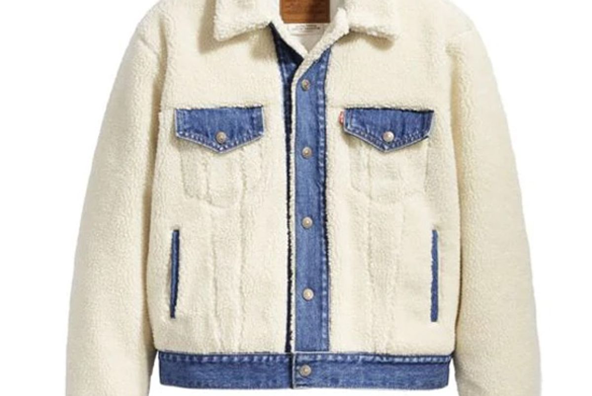 levis ex boyfriend sherpa trucker jacket