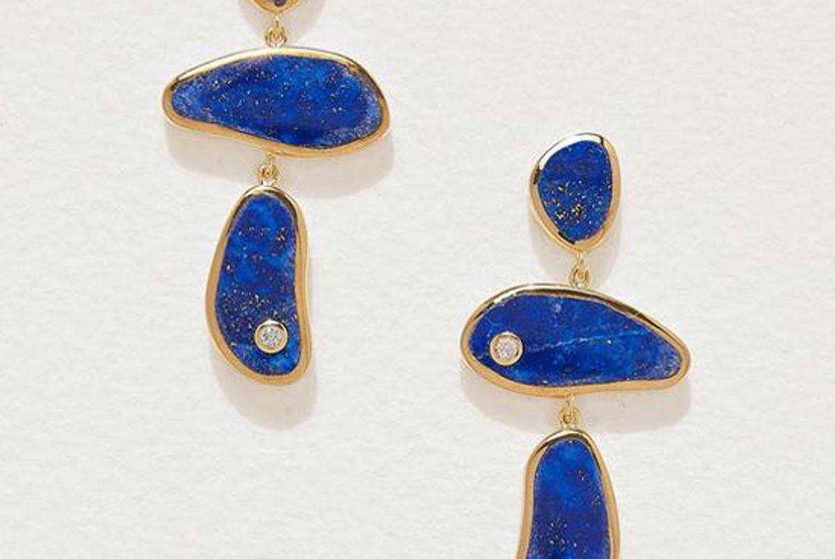 pamela love francesca drop earrings