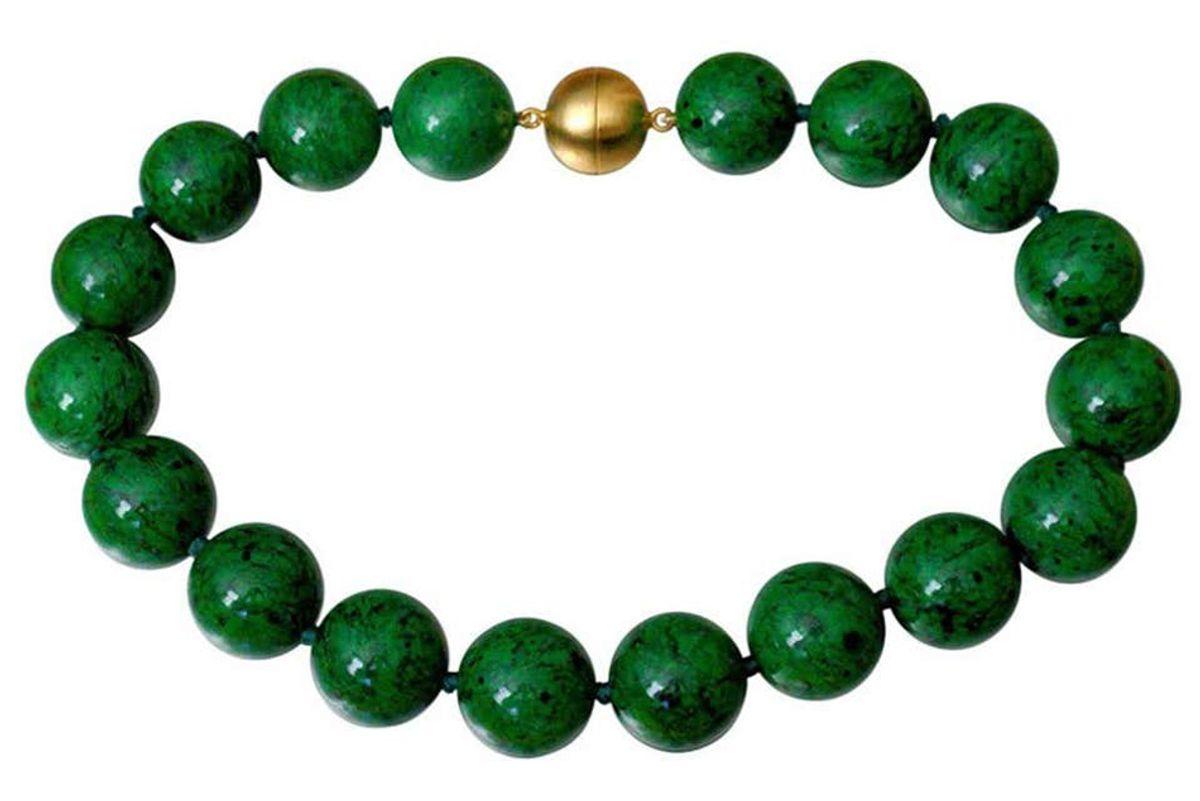 beautiful rare natural maw sit sit jade beads necklace