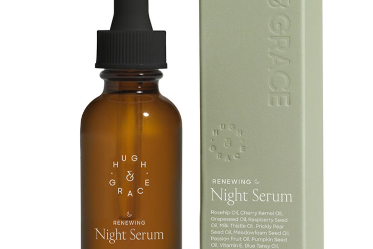 hugh and grace renewing night serum