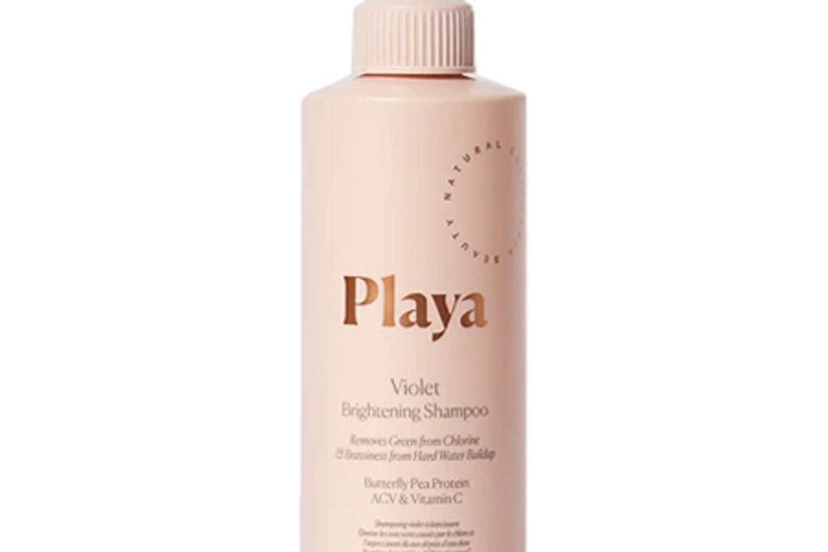 playa violet brightening shampoo