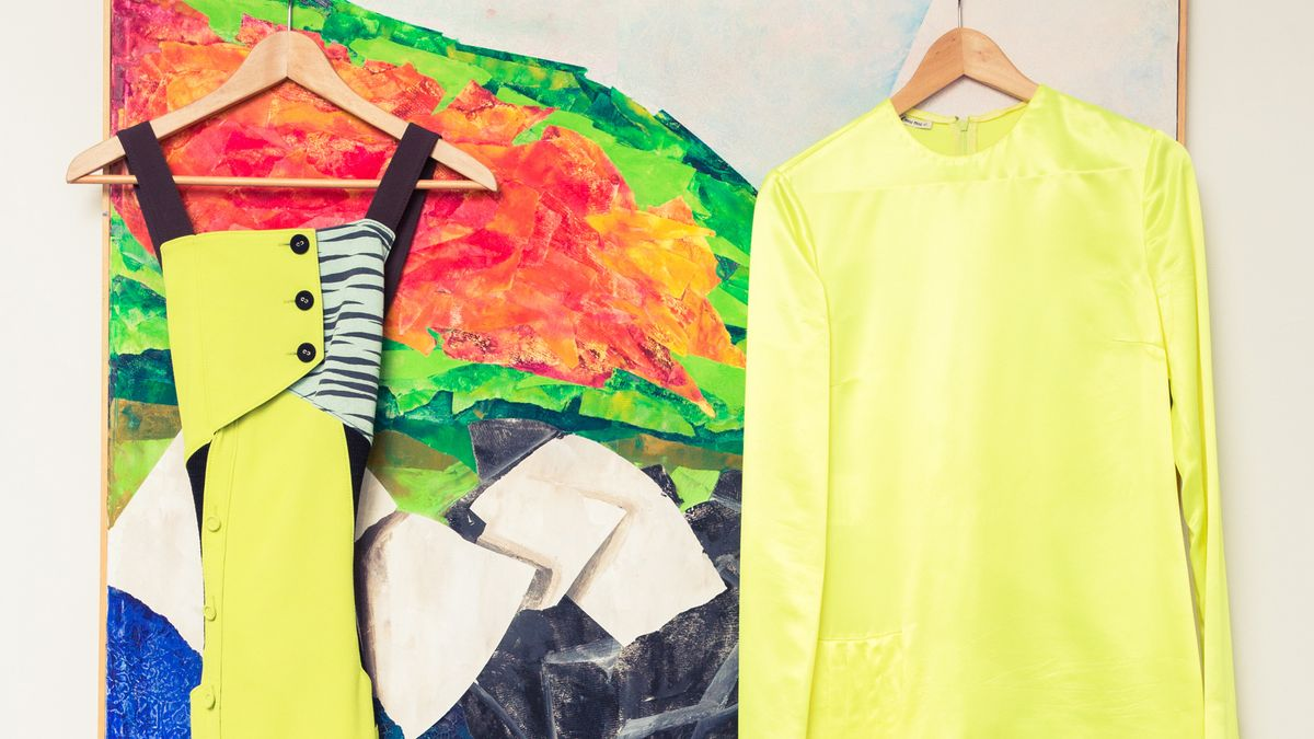shop slime green fashion and beauty products