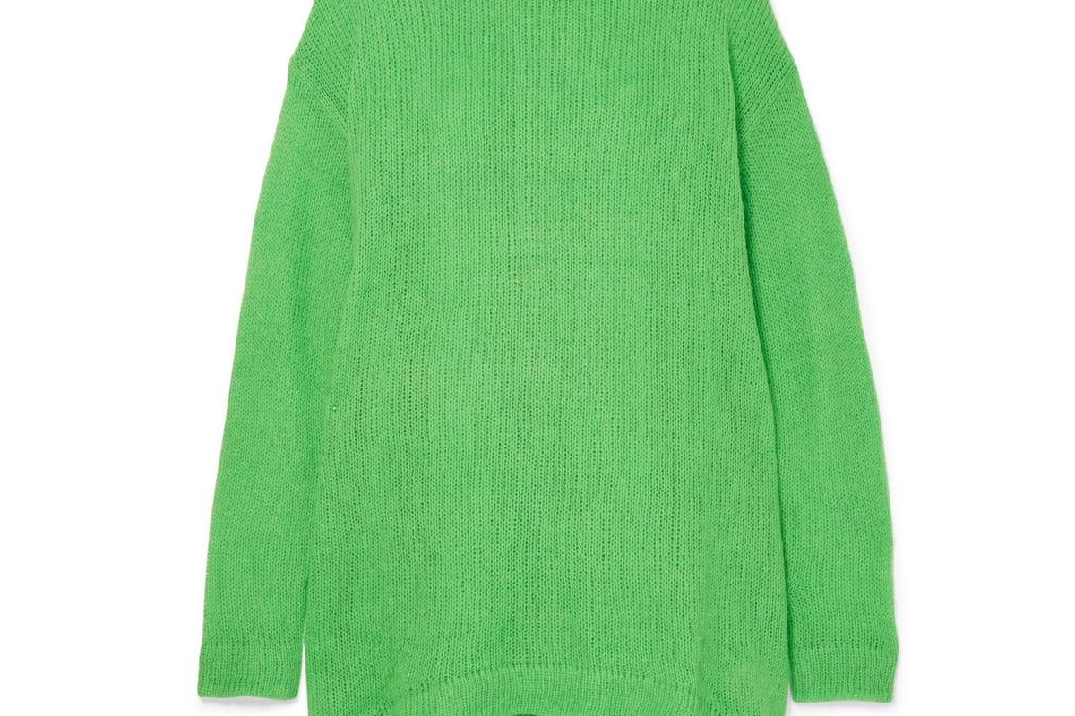georgia alice open knit sweater