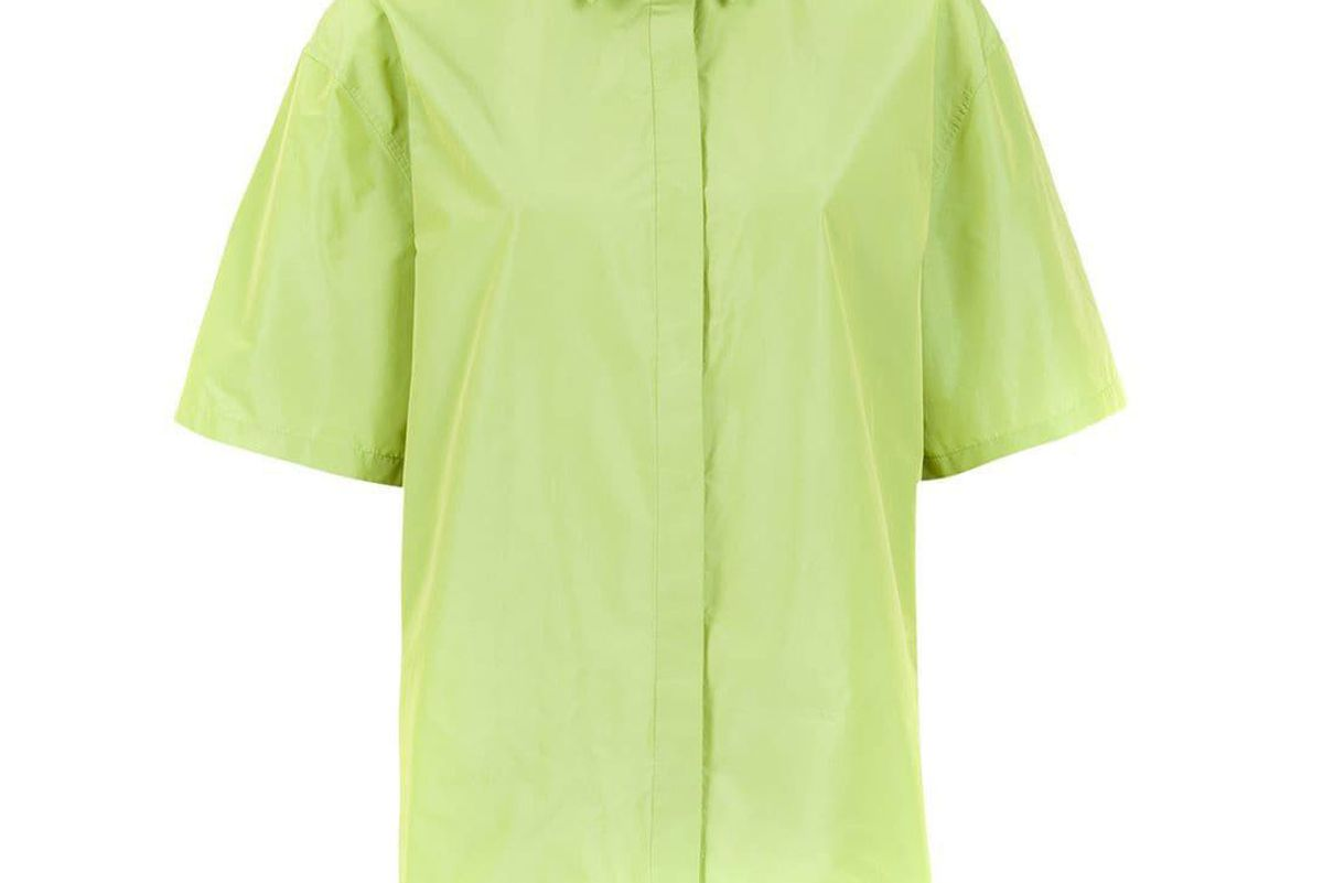 gloria coelho green oversized