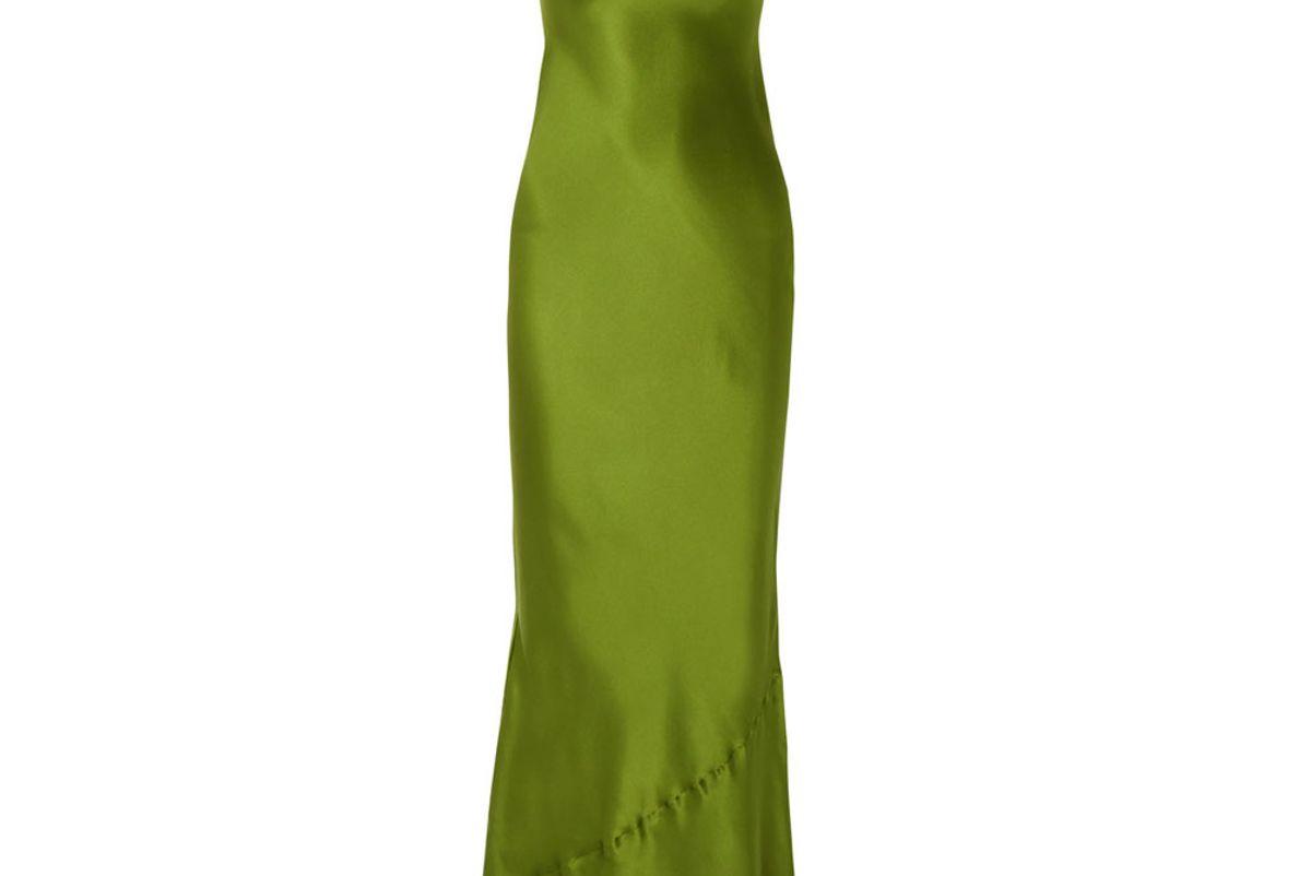 nili lotan satin maxi dress