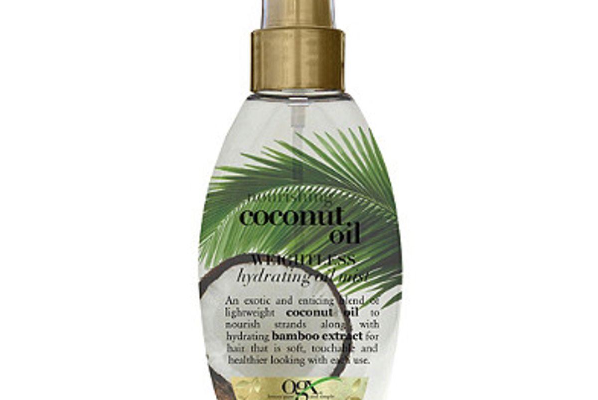 ogx nourishing coconut oil weightless hydrating oil mist