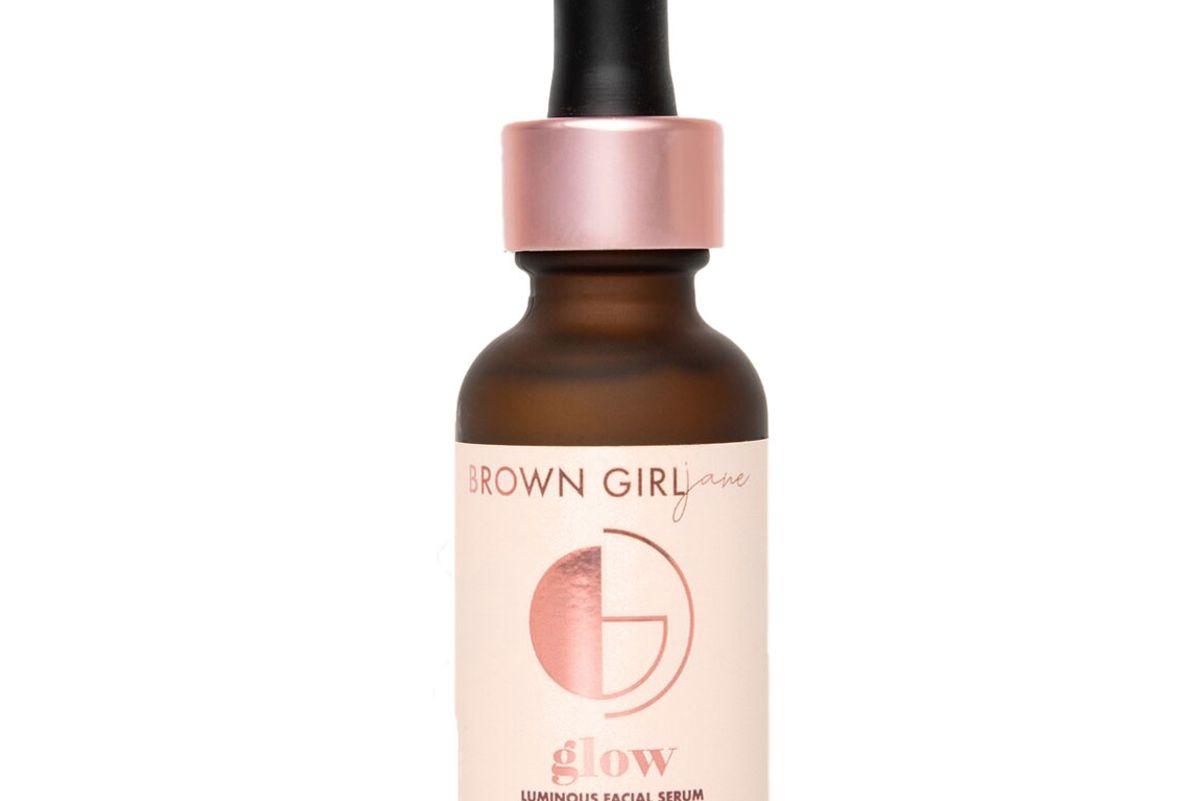 brown girl jane glow luminous facial serum