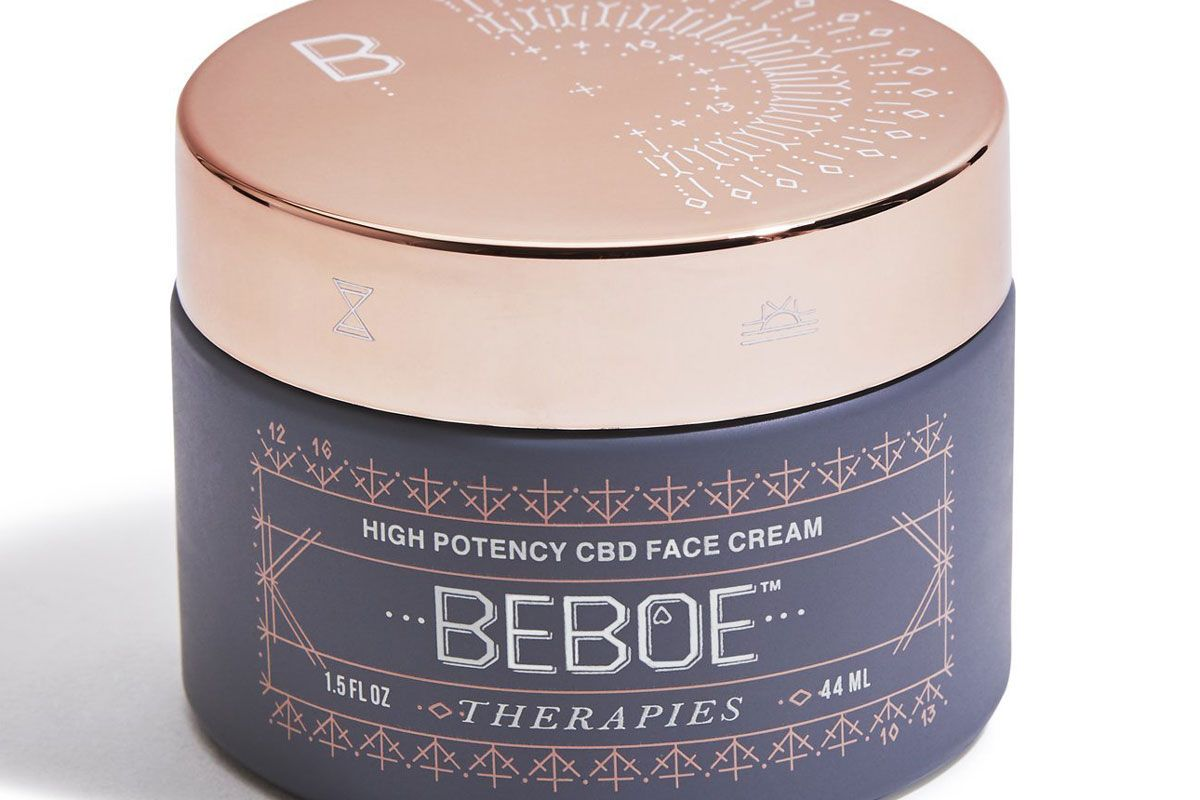 beboe therapies high potency cbd face cream