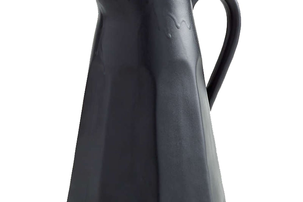 crate and barrel stevey pitcher