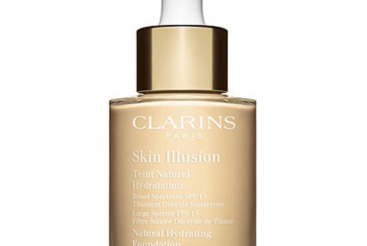 clarins skin illusion natural hydrating foundation