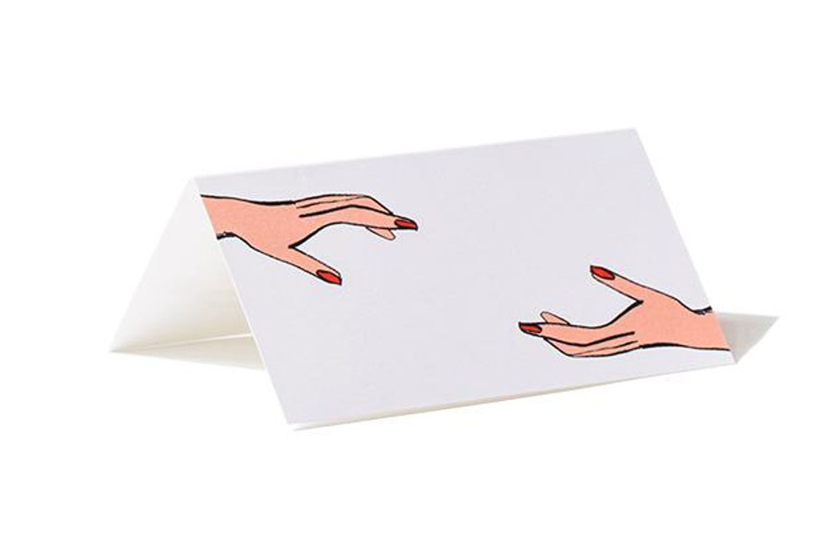 dada place your name in my hands cards