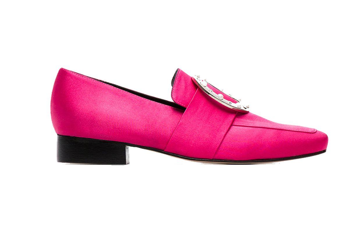 dorateymur pink harput satin loafers