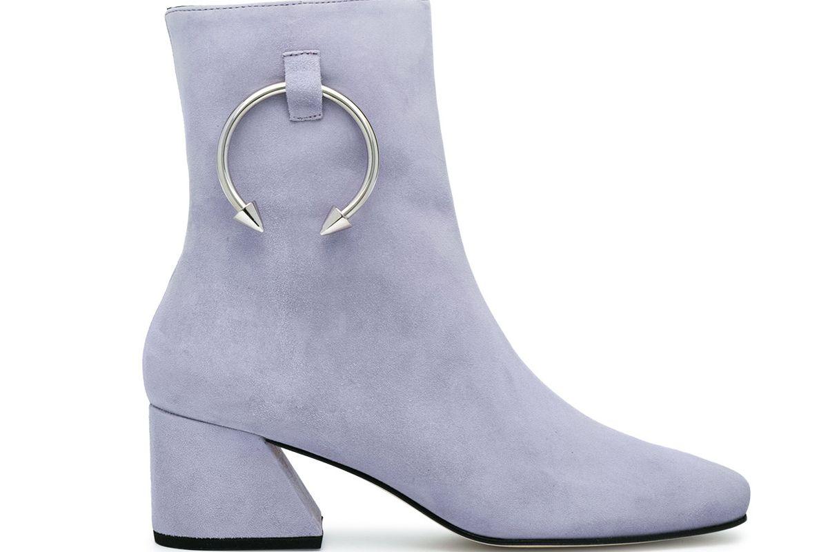 dorateymur lilac suede nizip ii 60 ankle boots