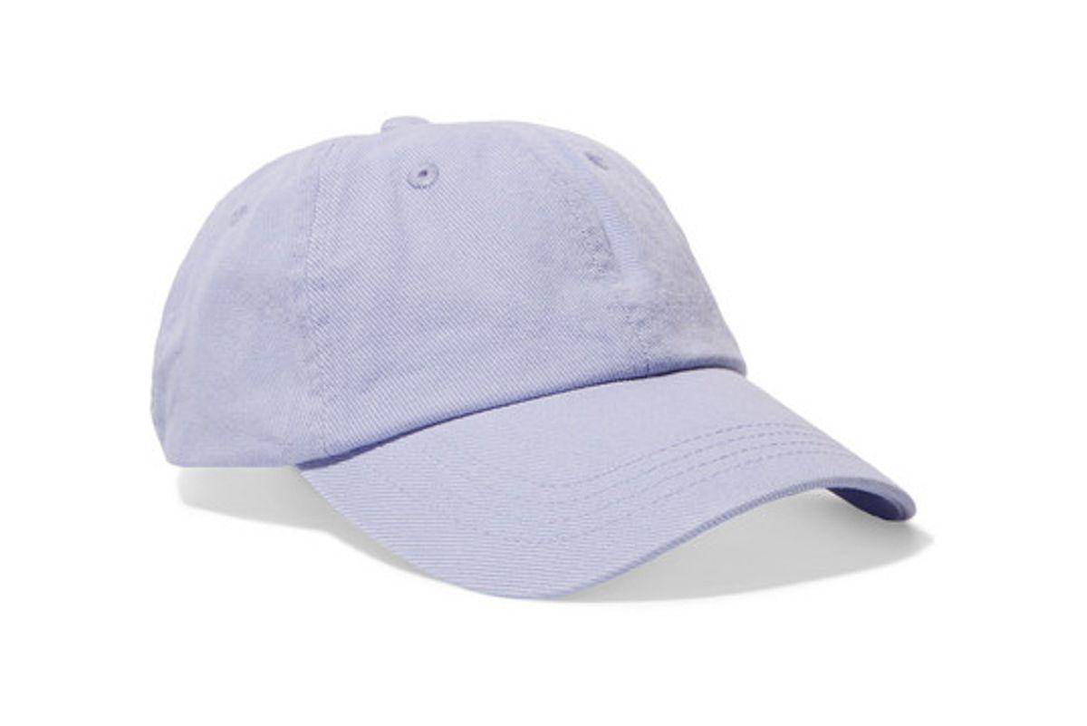 acne studios cotton twill baseball cap