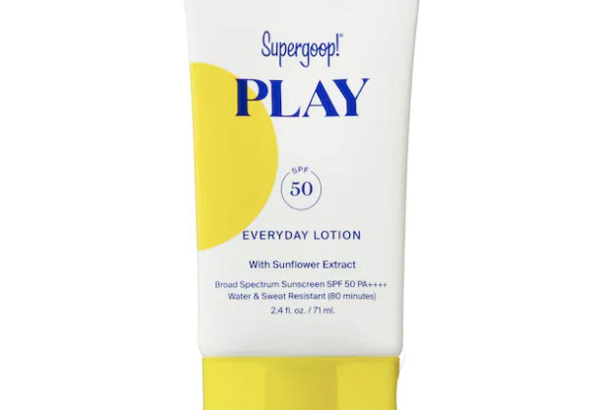 supergoop play everyday lotion spf 50