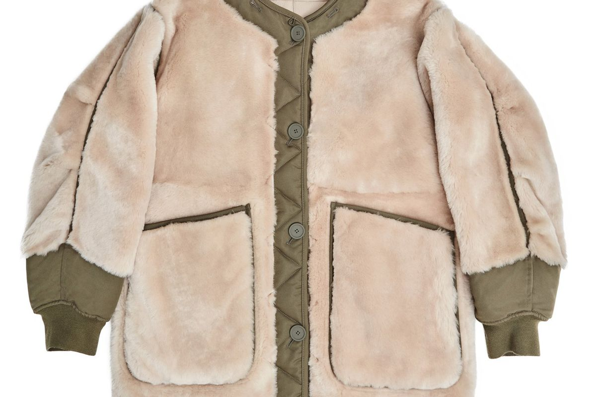 marfa stance the reversible shearling bomber