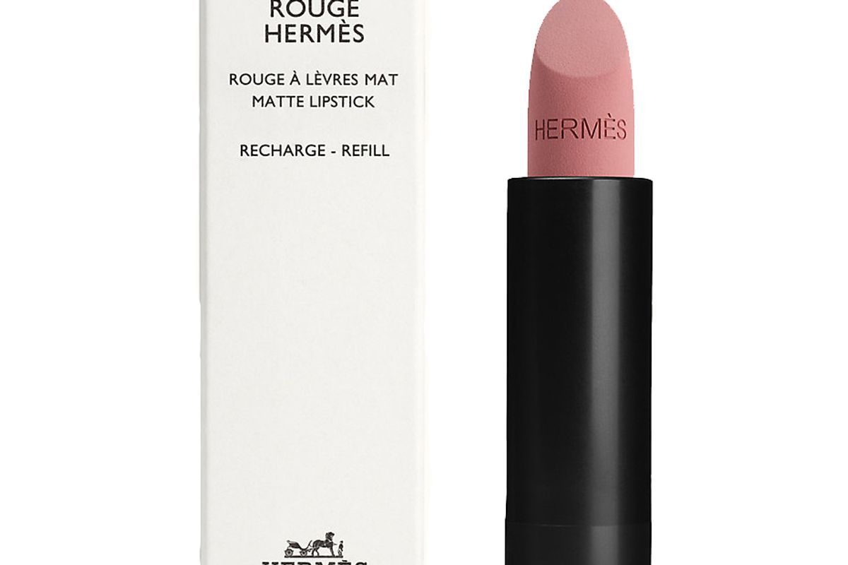 hermes rouge hermes matte lipstick refill beige naturel