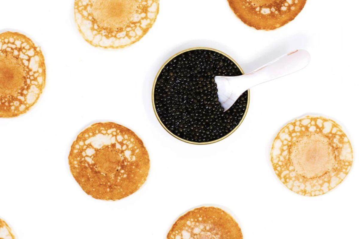 portage food caviar set
