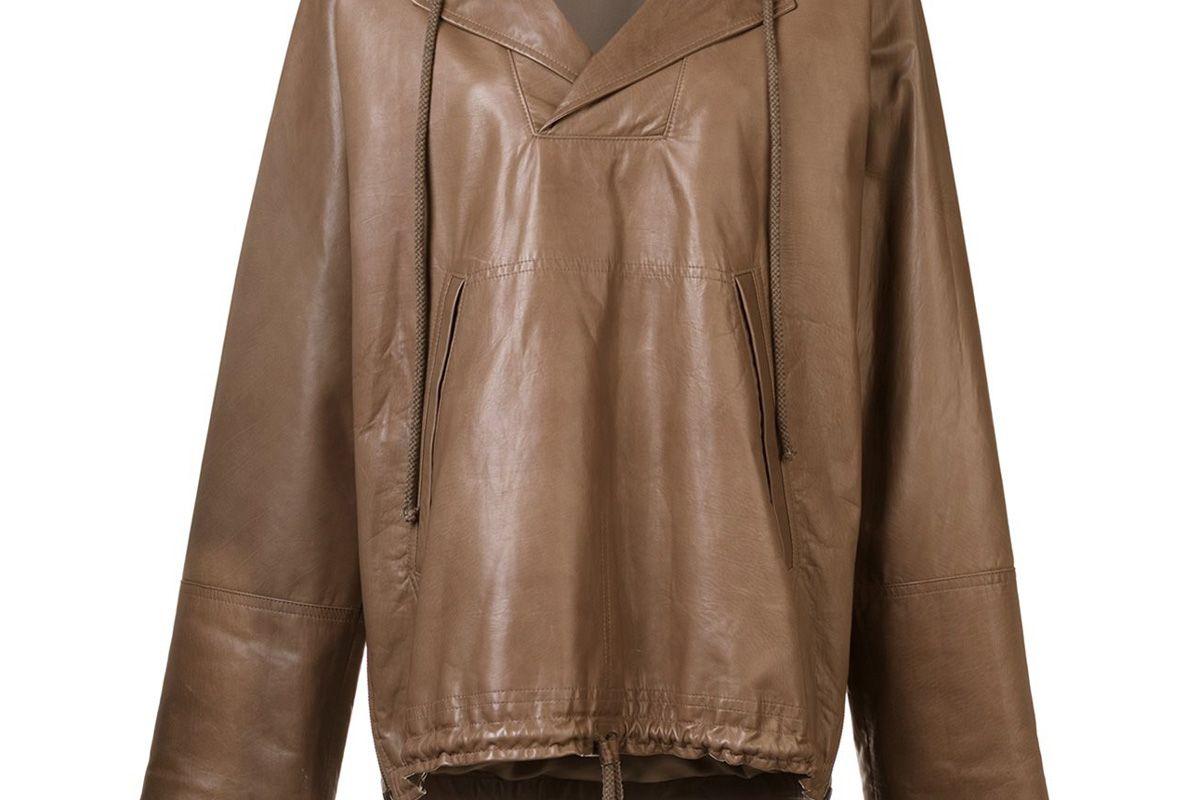 Leather Anorak
