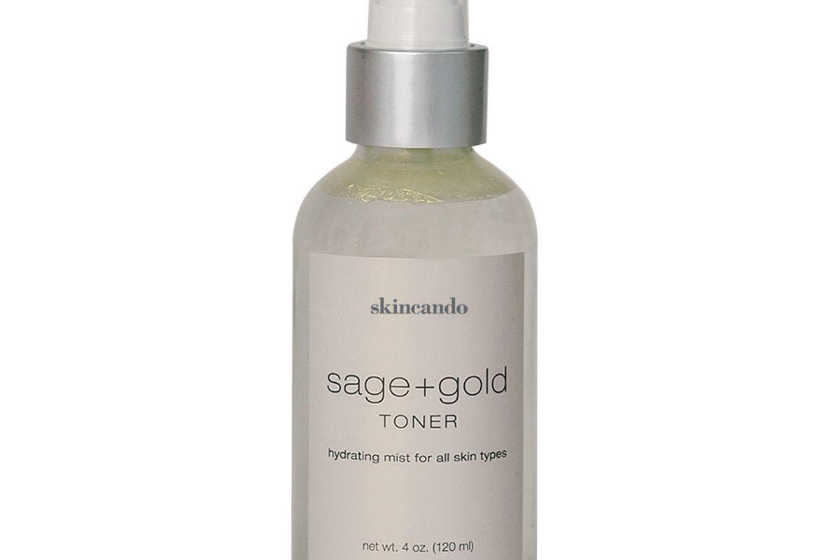 skincando sage and gold medicinal toner