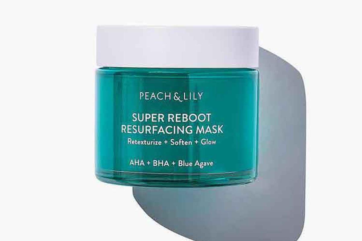 peach lily super reboot resurfacing mask