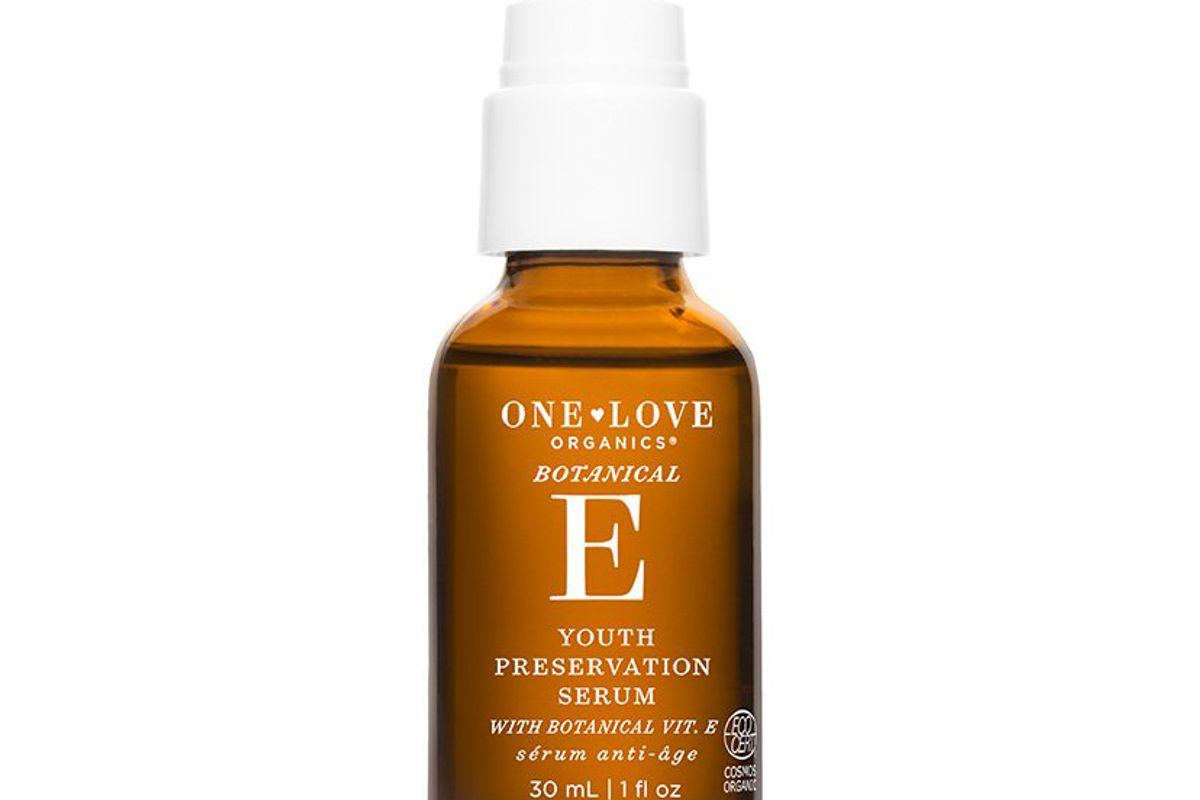 one love organics botanical e youth preservation serum