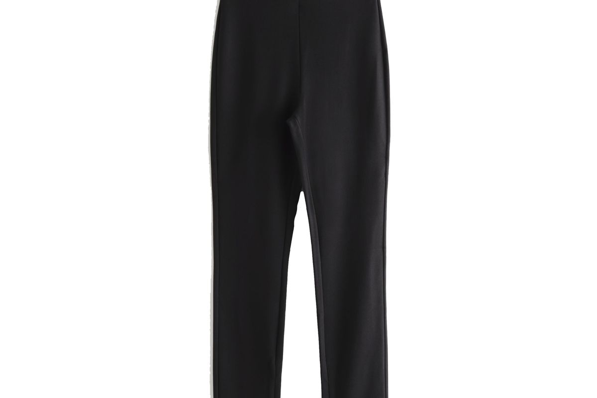 and other stories fitted zipper leggings