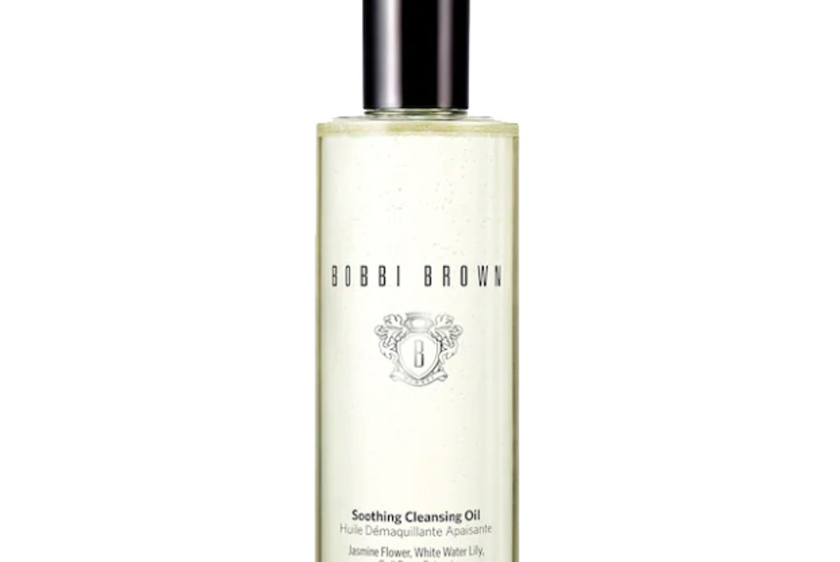 bobbi brown soothing face cleanser oil