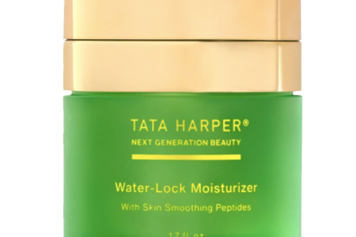 tata harper water lock moisturizer with skin smoothing peptides