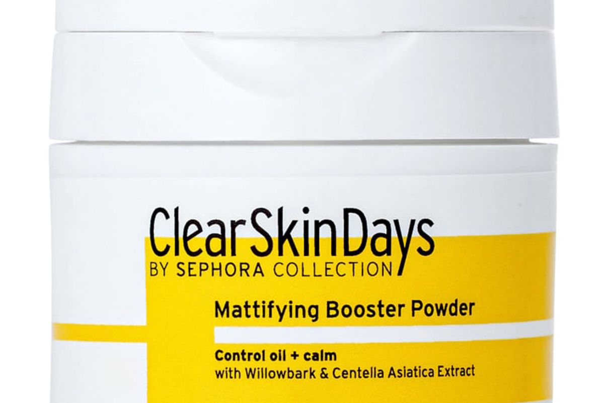 clear skin days by sephora collection mattifying booster powder