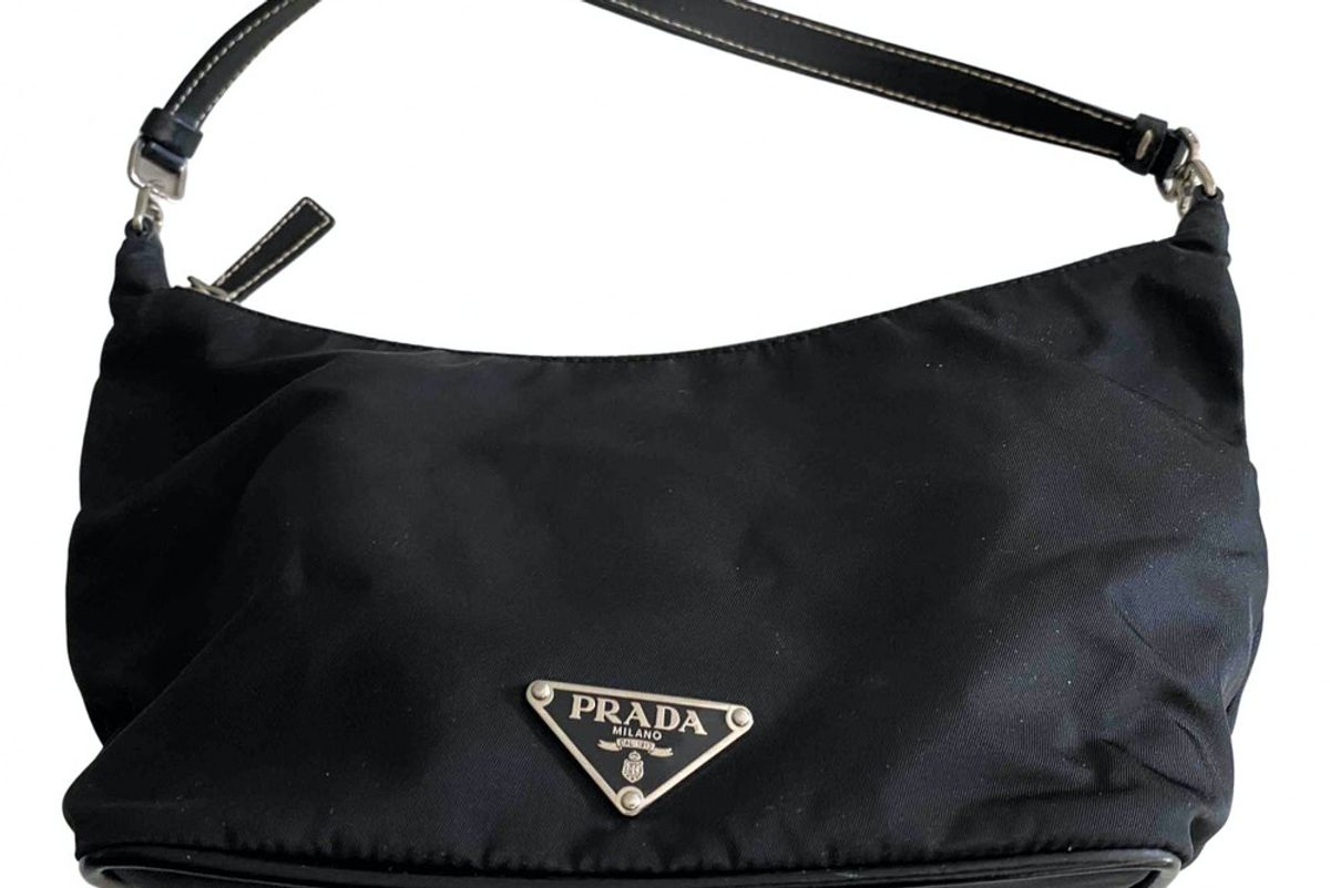 prada re-nylon cloth handbag