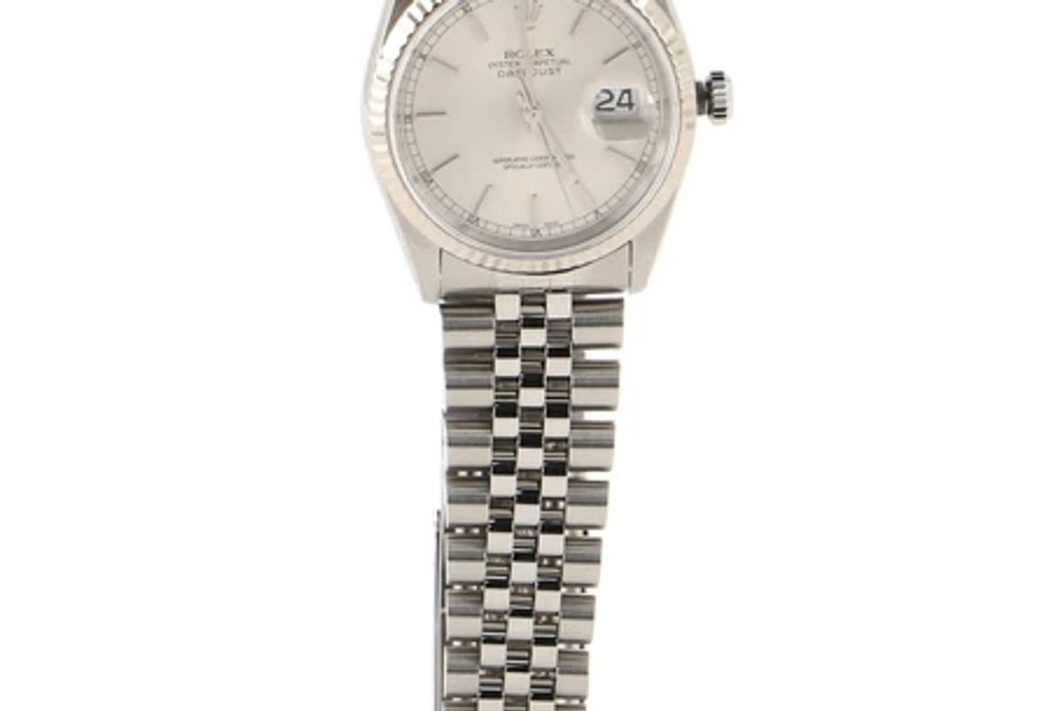 rolex stainless steel oyster perpetual datejust automatic watch